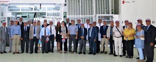 Bulgaristan Tesisimizde Hat Açılış Heyecanı