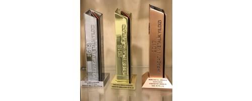 Perfektüp'e, Metal Ambalaj Kategorisi İhracatında 3. Ödülü